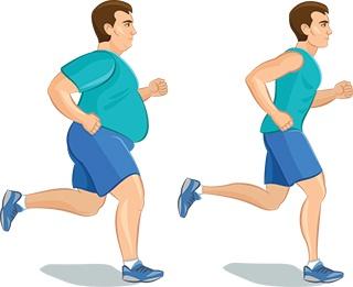 vægttab med slankepulver