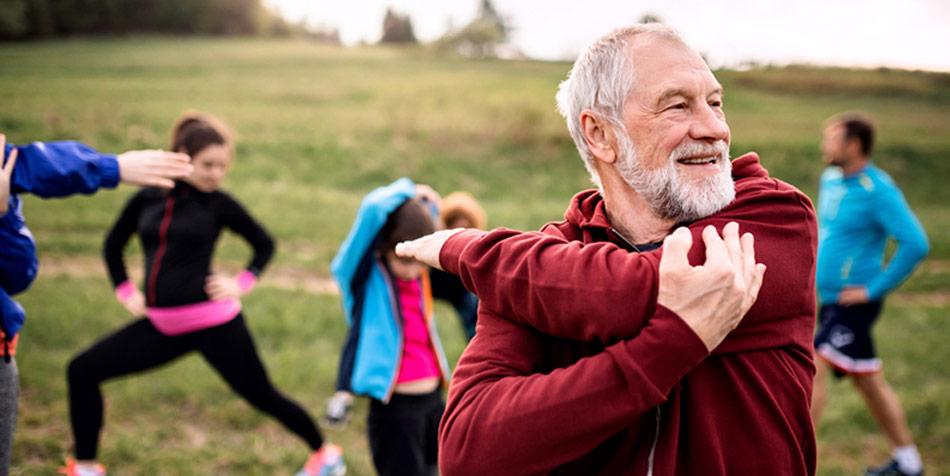 31% af alle danskere over 15 år bruger mere end fem timer om ugen på at være fysisk aktive, hvilket er mere end i alle andre europæiske lande.