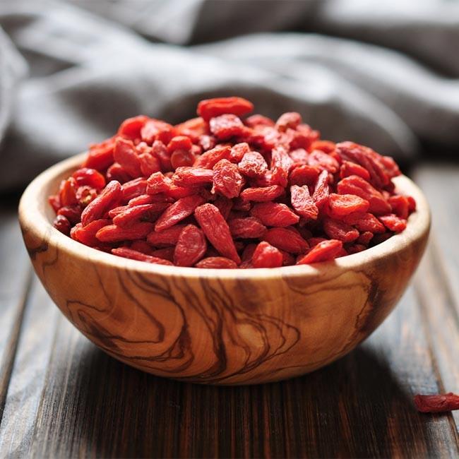 Sunde fordele med Goji Bær