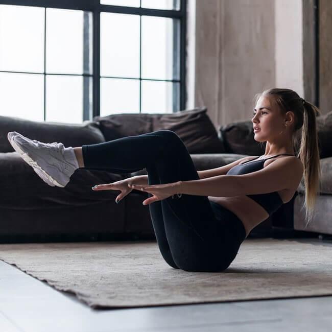 5 Øvelser til hjemmet