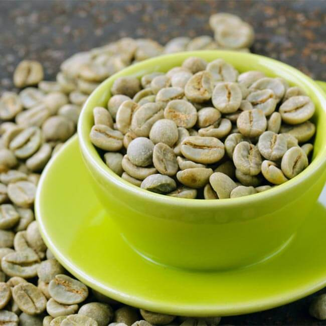 Grøn Kaffe Kur