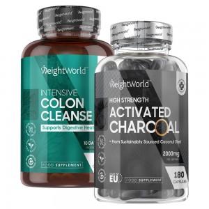 Detox & Aktivt Kul Kombipakke