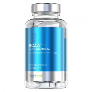 BCAA & B6-vitamin 90 Tabletter WeightWorld