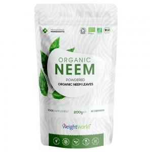 Bio Neem Pulver - Økologisk & Plantebaseret Pulver for Immunsystemet - 200g