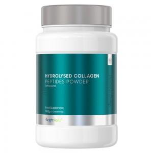 Hydrolyseret Kollagen Peptide Pulver - Kosttilskud for Naturlig Muskeludholdenhed - 200g