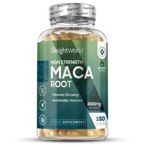 Maca-rod | Naturligt energigivende kosttilskud