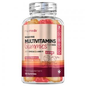 Multivitamin Vingummi til børn | Naturligt Tilskud Til Velvære for Børn