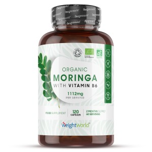 Økologisk Moringa med B6-vitamin