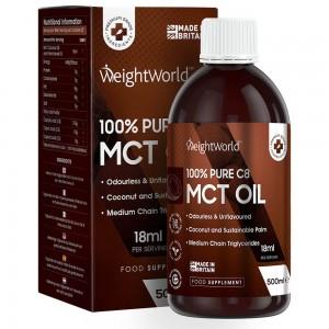 WeightWorld Naturligt C8 MCT Olie 500ml