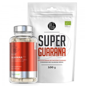 Pure Guarana & Super Guarana Pulver