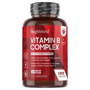 Vitamin B Complex | Kosttilskud til et normalt fungerende immunsystem og bekæmpelse af træthed