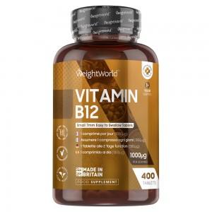 Vitamin B12 | Naturligt supplement til energi, der øger stofskiftet.