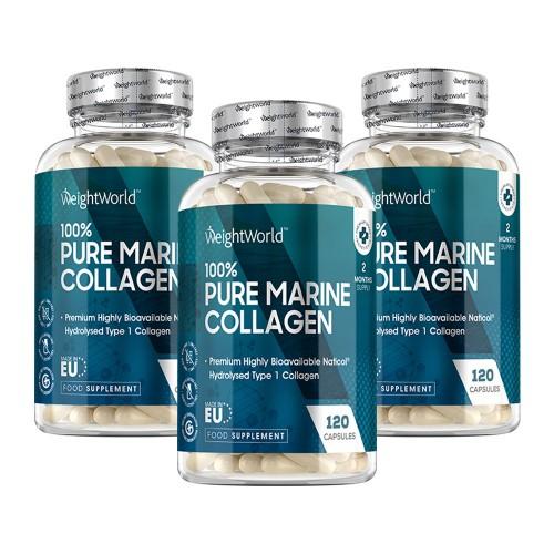 Pure Marine Collagen Høj-Potens Tilskud