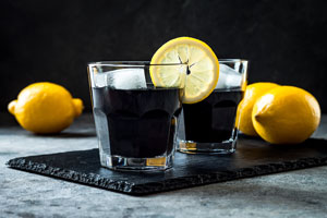 Activated Charcoal Detox Drink
