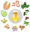 omega-3 cellulite appelsinhud