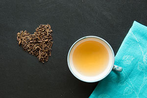 Vanddrivende grøn te